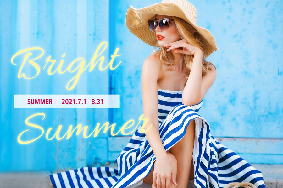 Bright Summer | 2021 |lovehair | ラブヘアー | 美容室